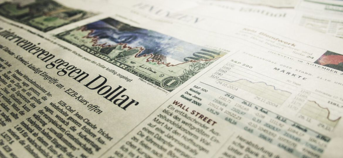 Zeitung Financial Times / newspaper financial times